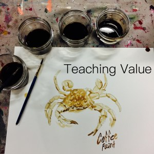 teaching tone, art class, art lessons, art education, early learning, Wee Warhols, Austin, tonality, color value, shading, art