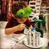 Cork, sculpture, process art, Wee Warhols, Austin, Art Class