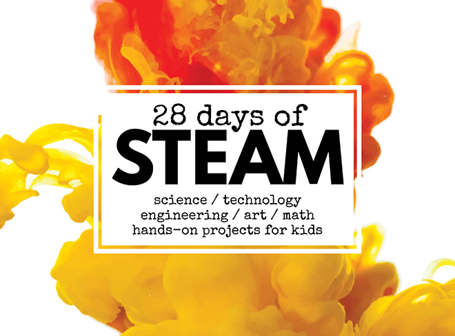 28 days of STEAM, Wee Warhols, Left Brain Craft Brain, STEAM Kids