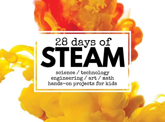 28 days of STEAM, Wee Warhols, Left Brain Craft Brain, STEAM Kids
