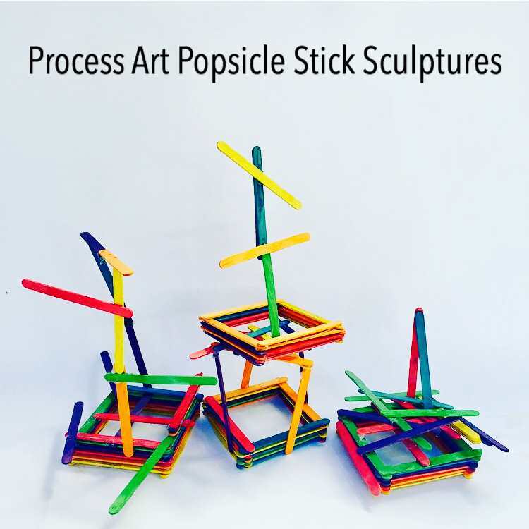 building, engineering, craft sticks, popsicle sticks, sculpture, Wee Warhols, Austin TX