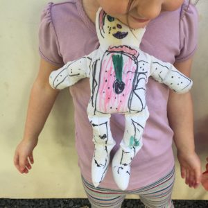 no sew muslin dolls, kids craft, easy, activitie, DIY, Figment Creative Labs, Austin, TX , Art Class
