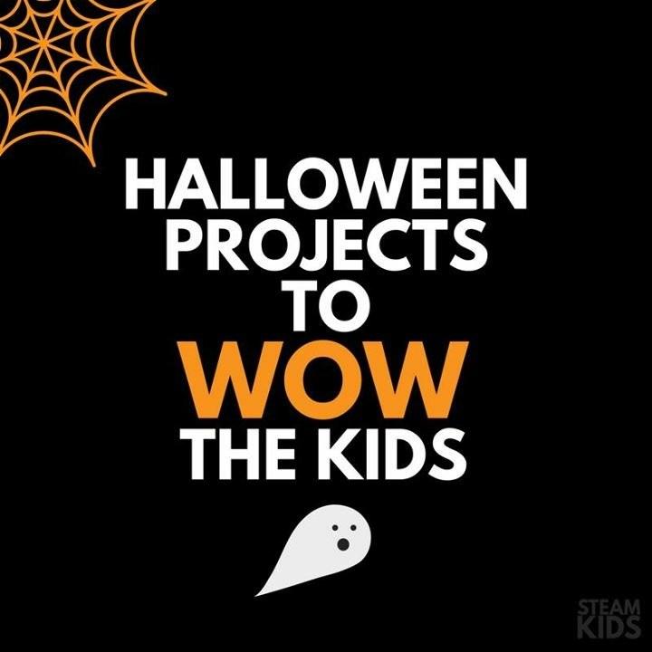 Halloween, STEAM Kids, ebook, Figment Creative Labs, Austin TX, Science, Art, kids, slime, kids activities