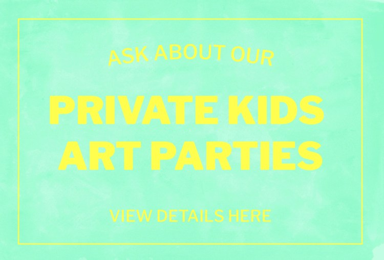 Private Kids and Art Parties | Figment Creative Labs | Austin, TX