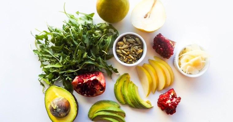 Pear & Pomegranate Winter Salad