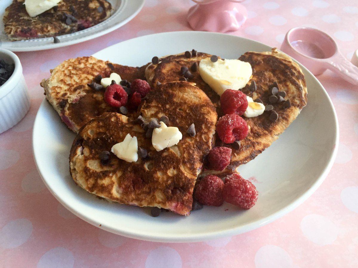 chocolate rasperry pancakes (1 of 1)-10