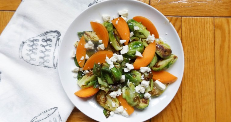 Apricot & Feta Brussels Sprouts