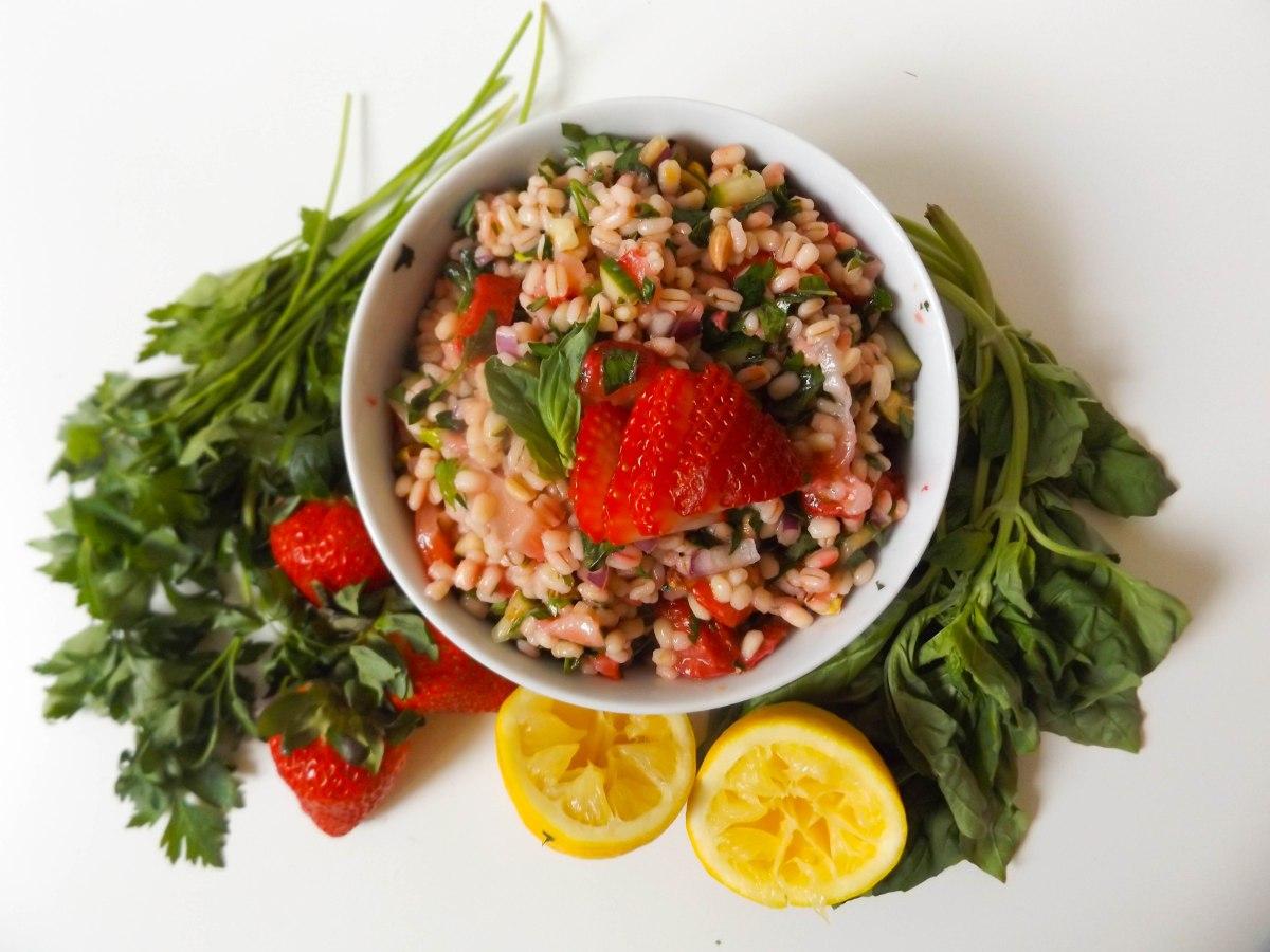 strawberry tabbouleh  (1 of 1)