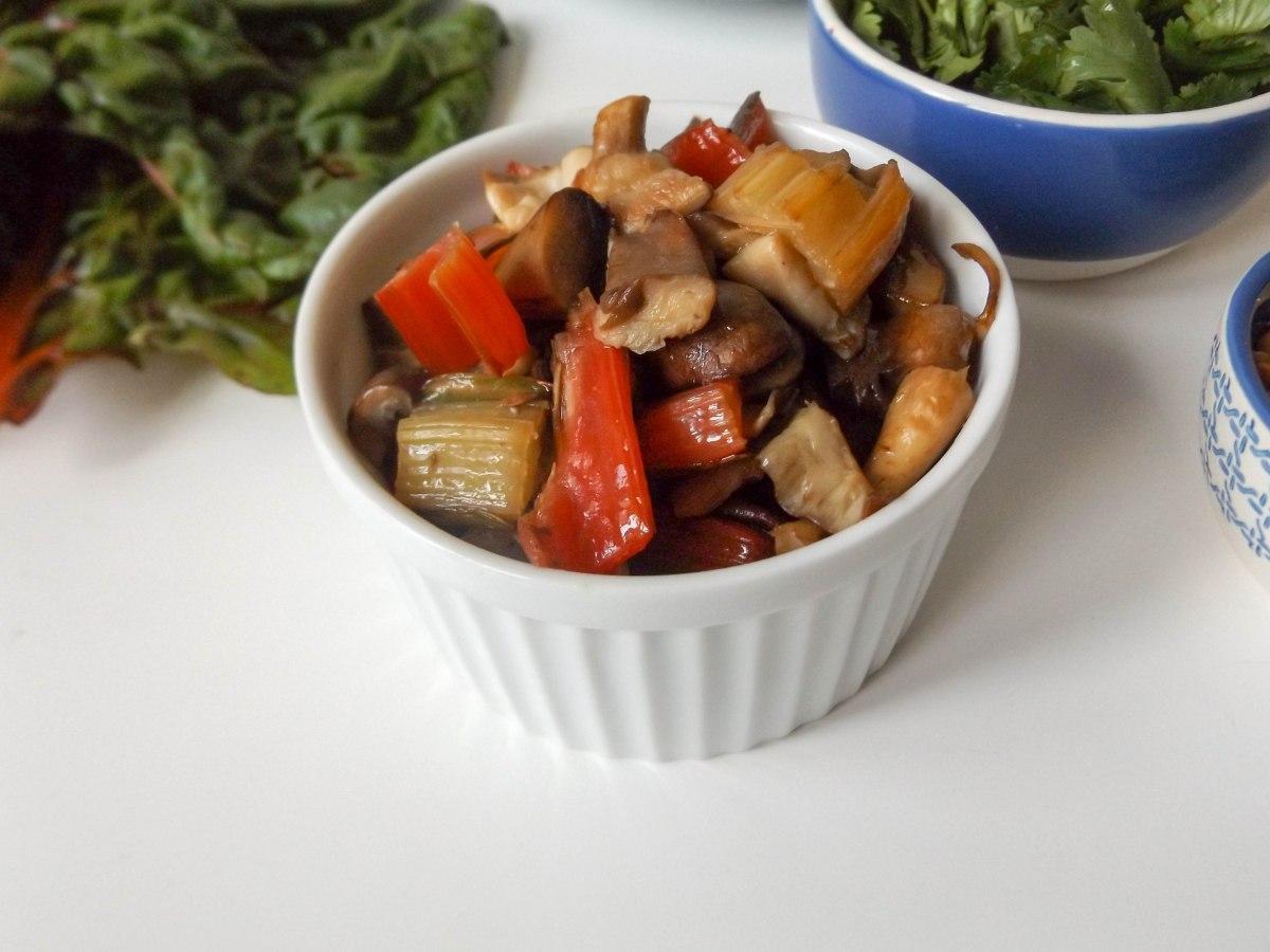 mushroom swiss chard lettuce wraps (1 of 1)-4