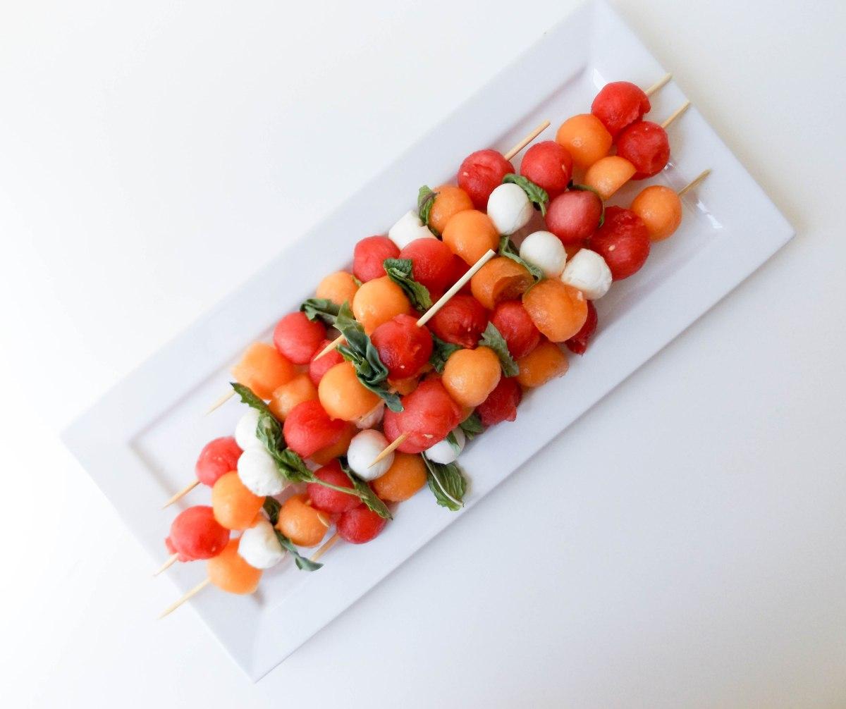 watermelon canaloupe mozzarella skewers (1 of 1)-6