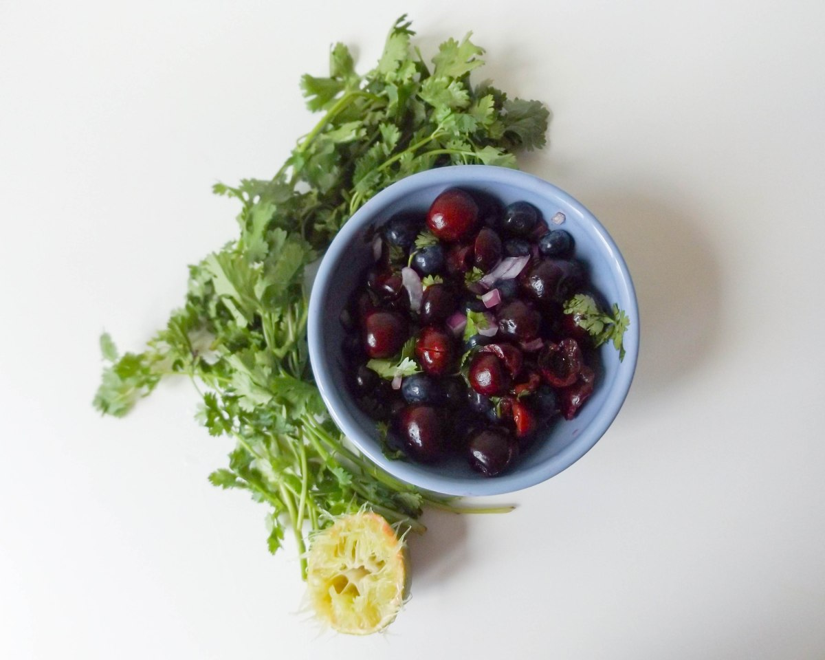 Cherry Blueberry Salsa 3