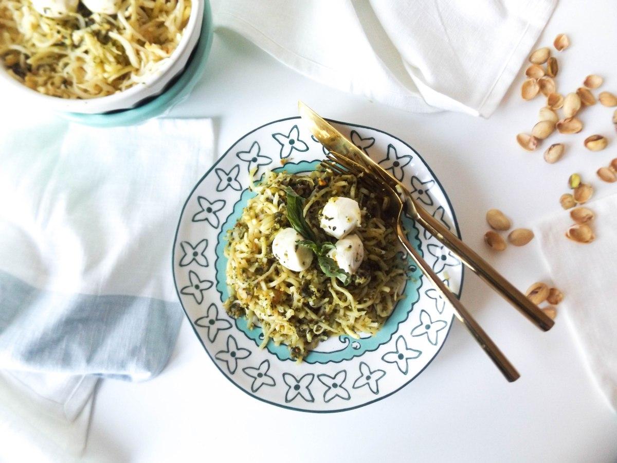 parsnip noodles pistachio pesto-9