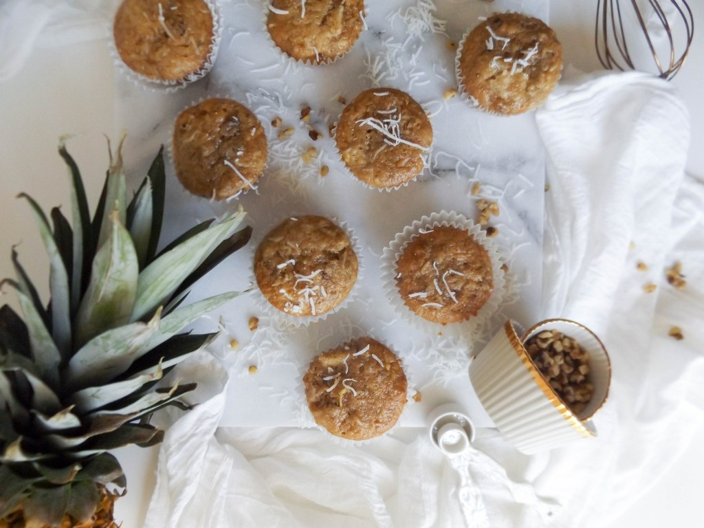 Healthy Hummingbird Muffins