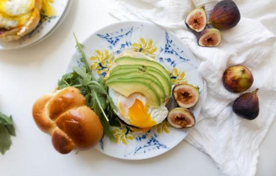 Fig Jam & Brie Breakfast Sandwich