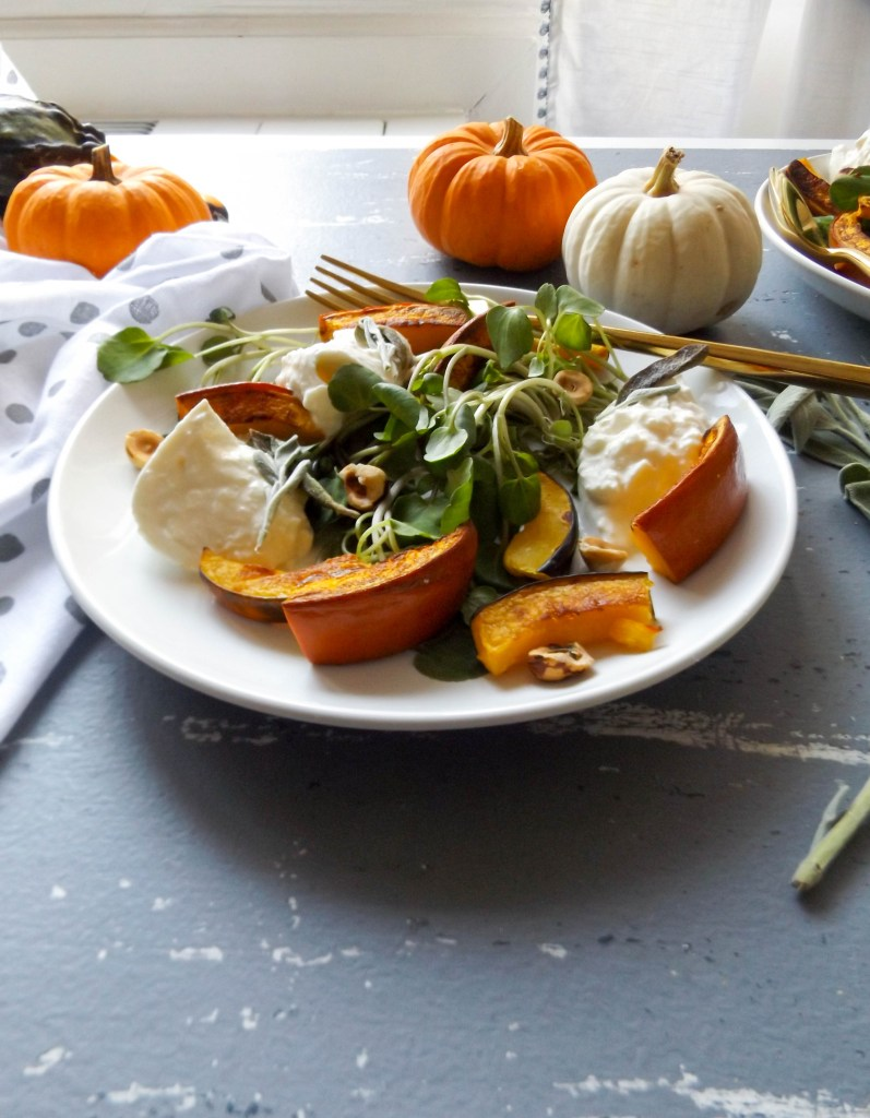 Seasonal Pumpkin Burrata
