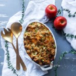 Caramelized Onion Apple & Cheddar Stuffing