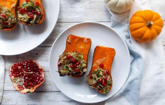 Stuffed Honeynut Squash