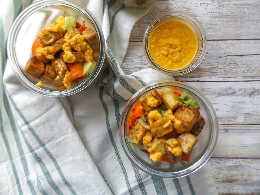 Bok Choy Carrot Ginger Bowl