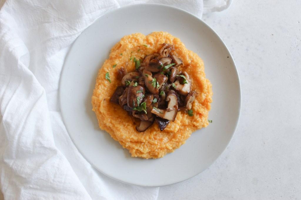 Mushroom Polenta