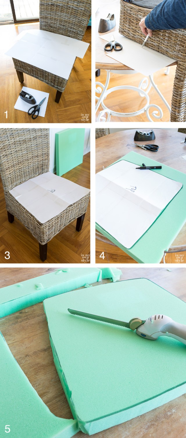 Adirondack Chair Cushion Sewing Pattern Diy Chair Cushions For My Kitchen In My Own Style