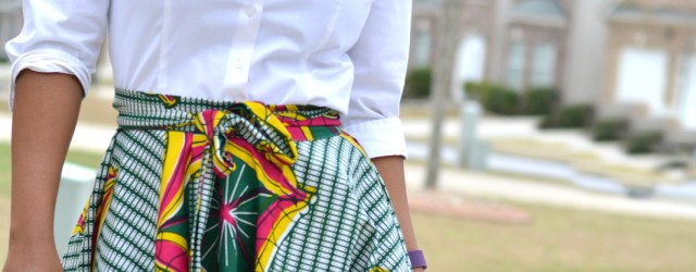 African Dress Patterns For Sewing Diy African Print Skirt Thriftanista In The City Pinterest