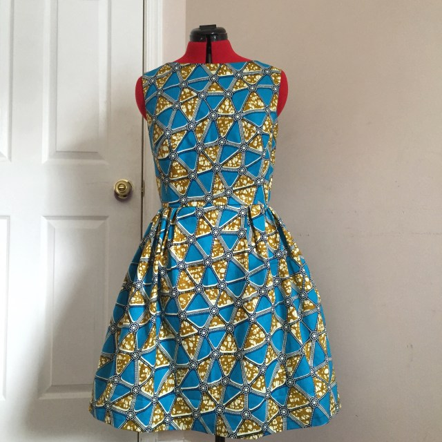 African Dress Patterns For Sewing Diy Dress Fun Print Kinda Day The Ravel Out