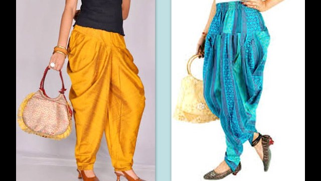 Aladdin Pants Sewing Pattern How To Make Latest Dhoti Harem Pants Easy Making Diy Youtube