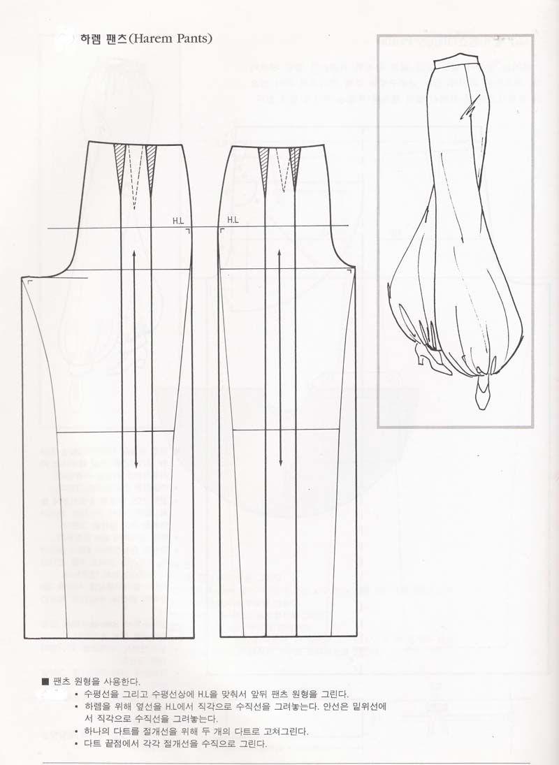 Aladdin Pants Sewing Pattern Pin Afzarina Aziz On Sewing Patterns Calas Customizadas