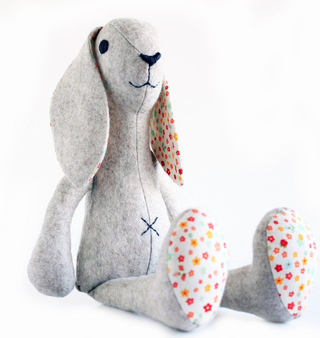 Animal Sewing Patterns Bunny Rabbit Sewing Pattern Stuffed Toy Sewing Pattern