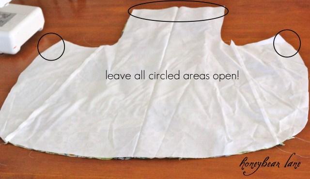 Apron Sewing Pattern Full Apron Tutorial Honeybear Lane