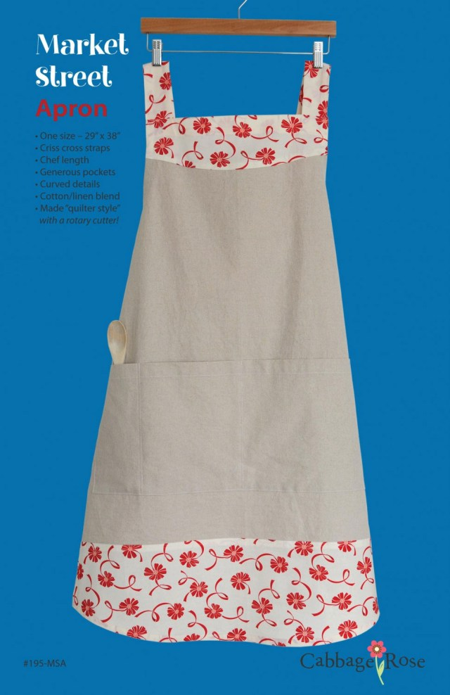 Apron Sewing Pattern Market Street Apron Sewing Pattern From Cabbage Rose