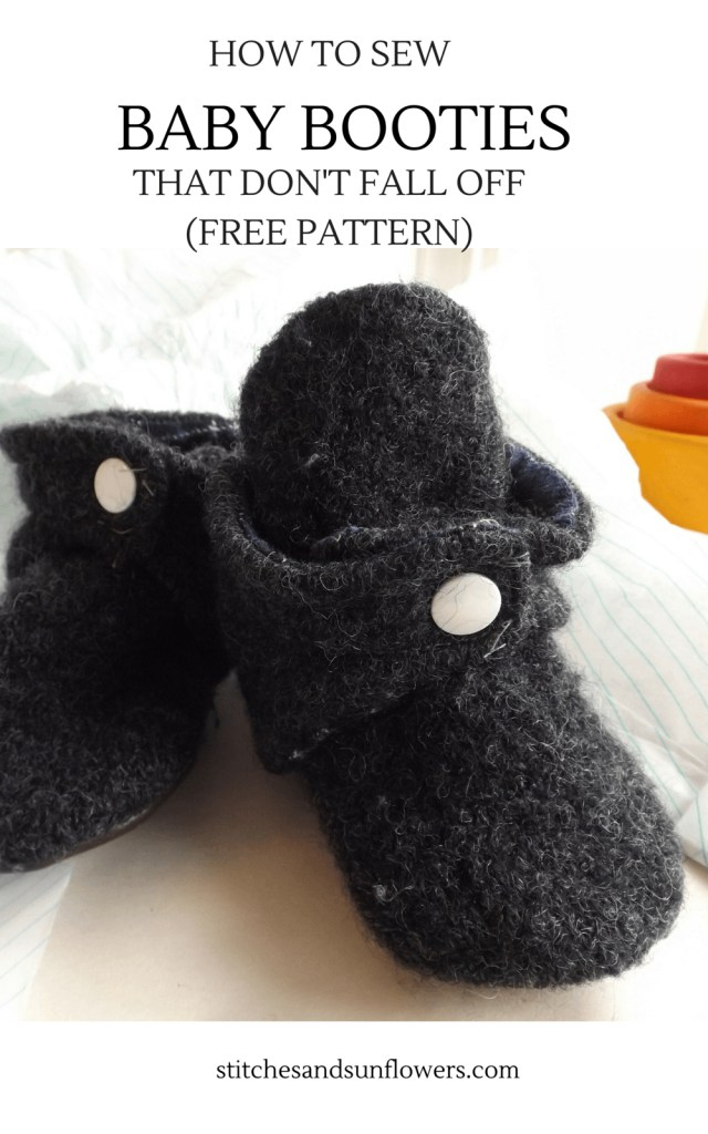 Baby Booties Sewing Pattern How To Sew Ba Booties That Dont Fall Off Free Pattern
