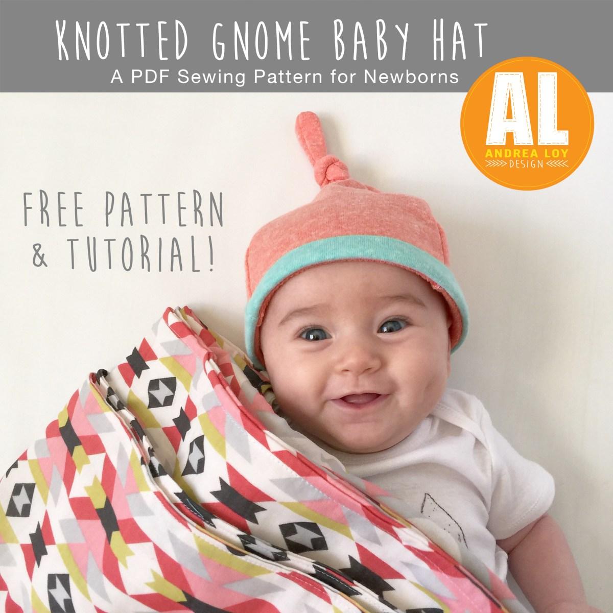 Baby Hat Sewing Pattern Free Ba Hat Pattern Andrealoydesign