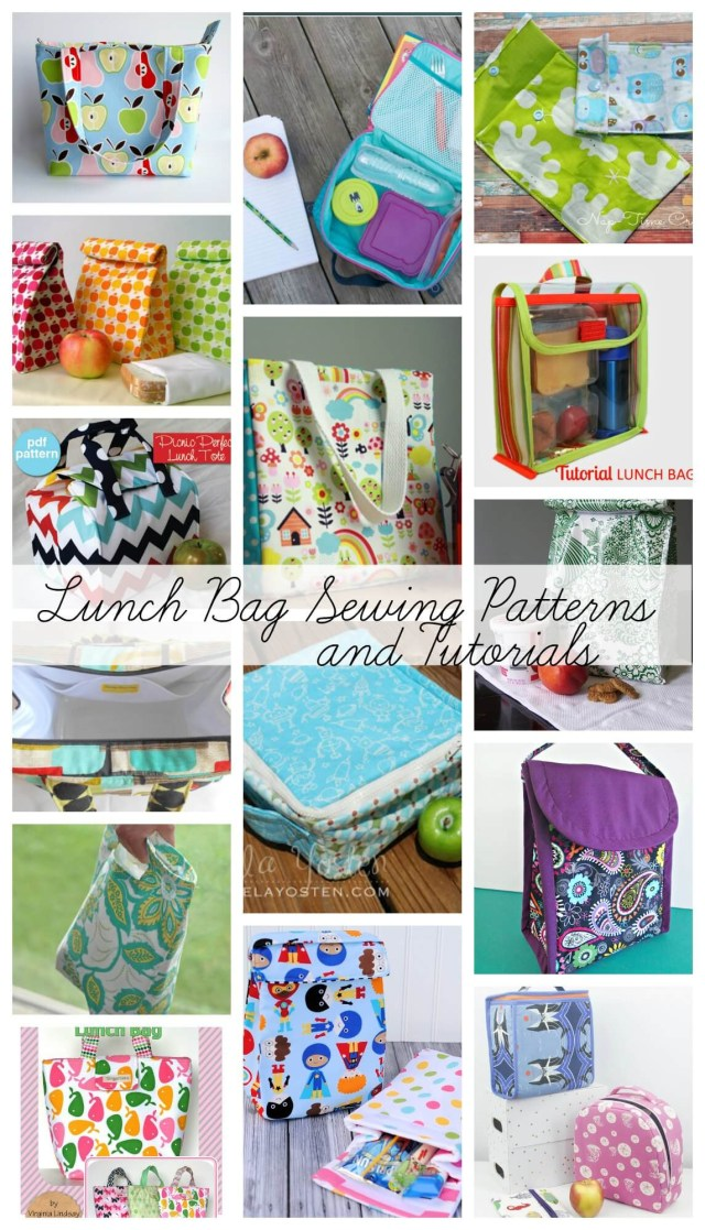 Bag Sewing Patterns Lunch Bag Sewing Patterns For Back To School Life Sew Savory