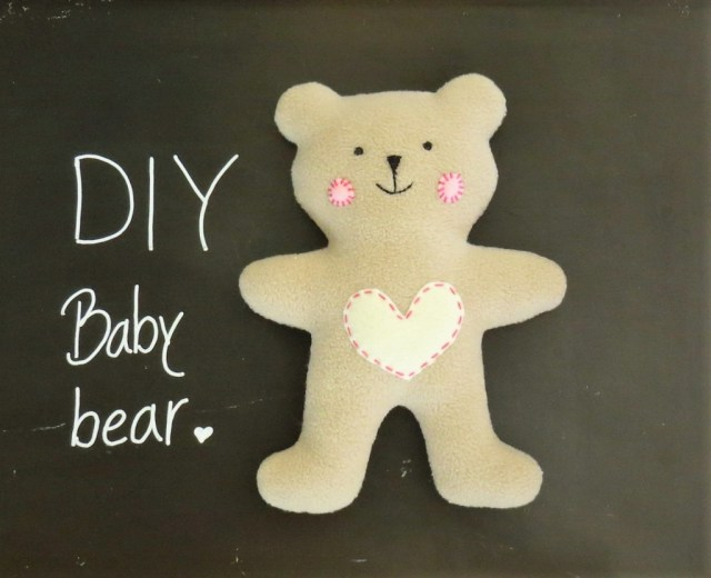 Bear Sewing Pattern How To Sew Quickly A Cute Little Soft Ba Teddy Bear Sew Toy
