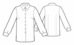 Blouse Sewing Pattern Free Blouse Sewing Pattern 5495 Made To Measure Sewing Pattern From
