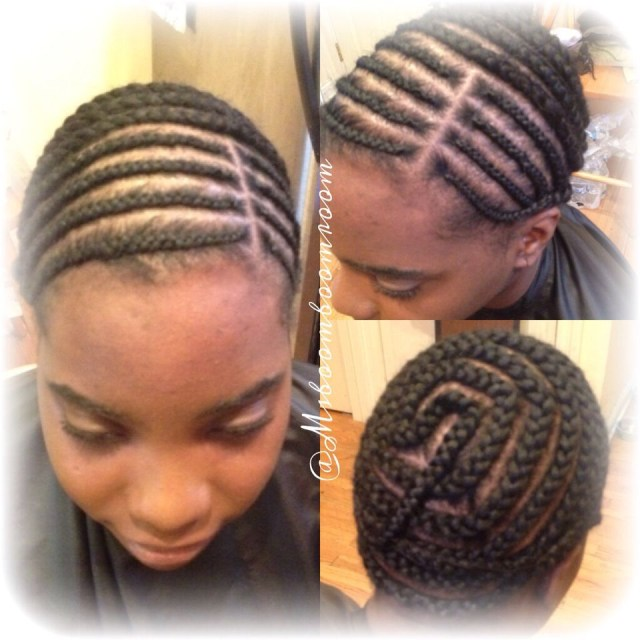 Braid Pattern For Middle Part Sew In Braid Pattern For Full Sew In And Lacesilk Closure Install Hair