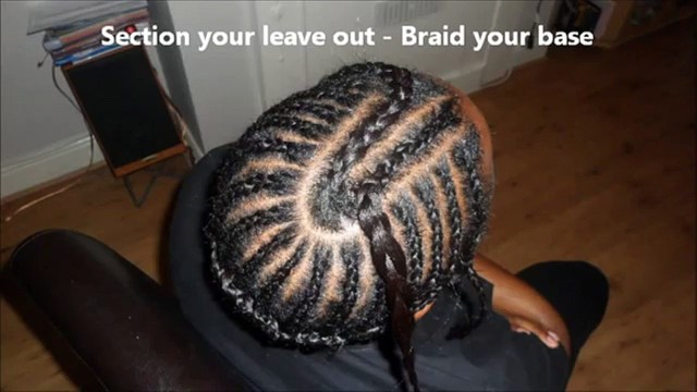 Braid Pattern For Middle Part Sew In Middle Part Sew In Weave Tutorial And Braid Patterndiva