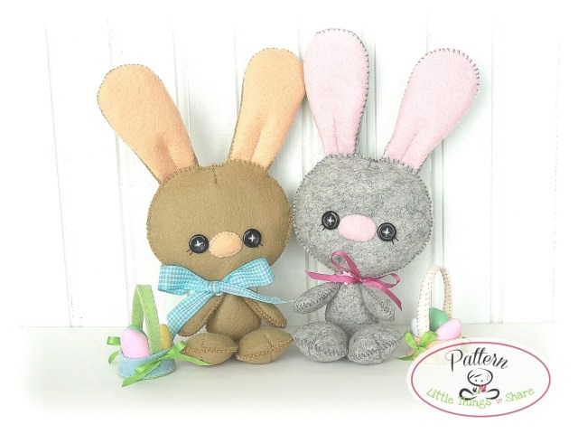 Bunny Sewing Pattern Easter Bunny Sewing Templates Hd Easter Images
