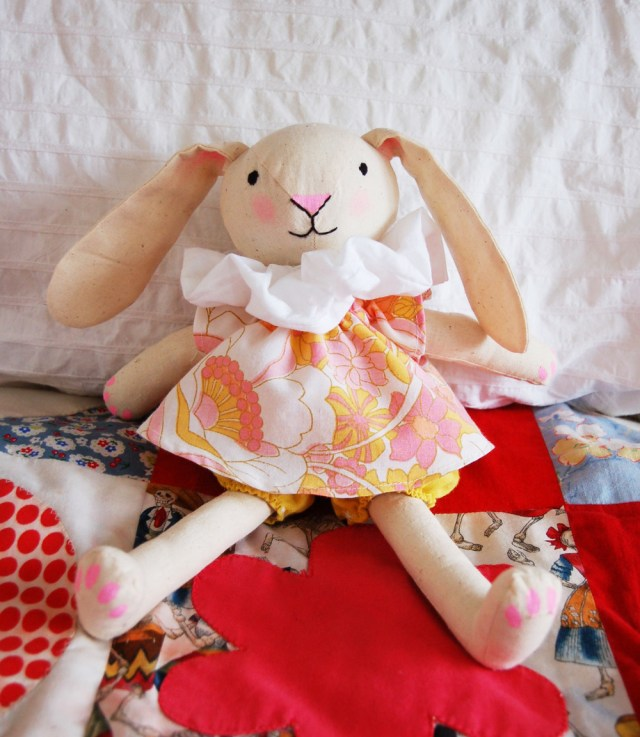 Bunny Sewing Pattern Spring Bunny Petit A Petit Family