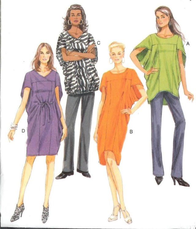 Butterick Sewing Patterns Butterick Sewing Pattern Misses Women Dresses And Tops W Plus Size