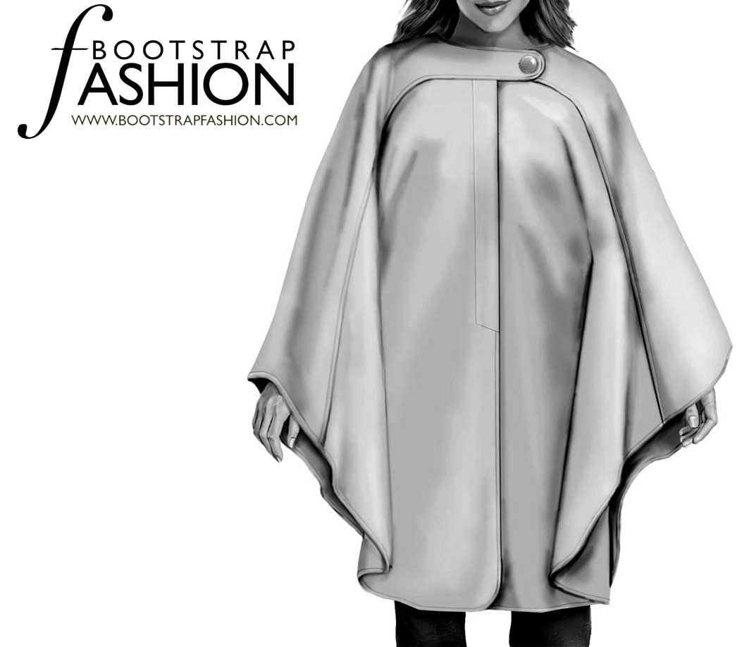 Cloak Sewing Pattern Bootstrapfashion Designer Sewing Patterns Affordable Trend