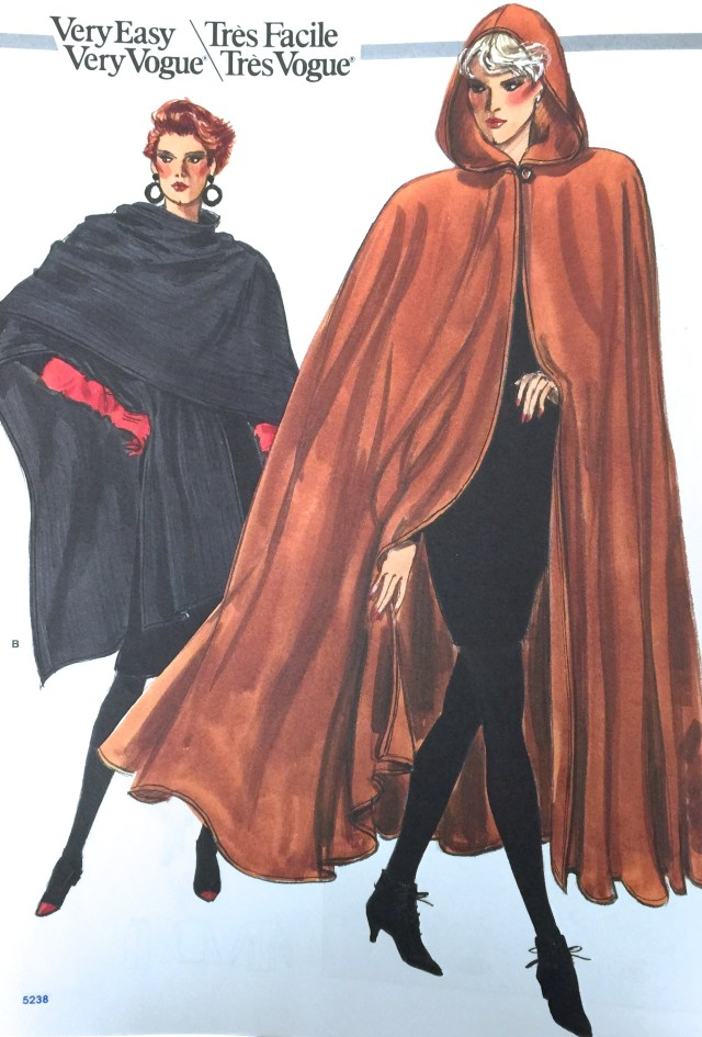 Cloak Sewing Pattern The Inescapable Unavoidable Cape Past And Present Patterns