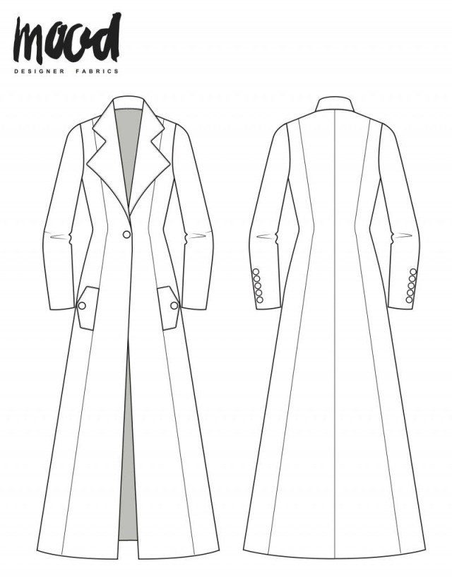 Coat Sewing Patterns Zinnia Jacket Redux Free Sewing Pattern Mood Sewciety