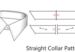 Collar Pattern Sewing How To Pattern A Straight Collar Youtube