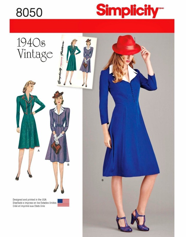 Cosplay Sewing Patterns Sewing Pattern Vintage Misses 1940s Dress Pattern Agent Carter
