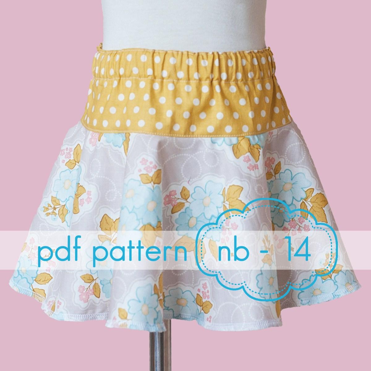Dance Skirt Sewing Pattern Skirts Jocole Pdf Sewing Patterns