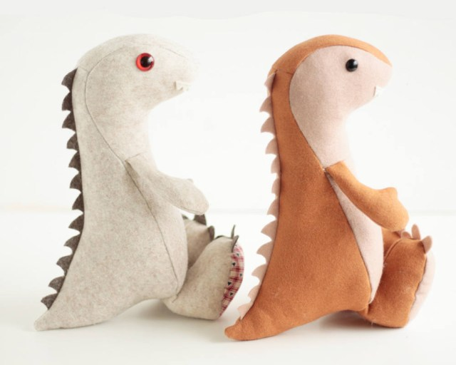 Dinosaur Sewing Pattern Dinosaur Sewing Pattern Pdf Pattern Step Step Tutorial For