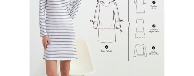 Dress Sewing Pattern Womens Knit Dress Or Top For Design Hacking Simplicity Sewing