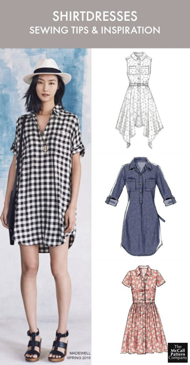 Dress Sewing Patterns The Dress Style You Need To Sew Now Plus Tips Shirtdress